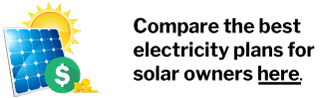 Compare the best electricity plans for solar owners