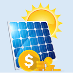Value solar feed-in tariffs
