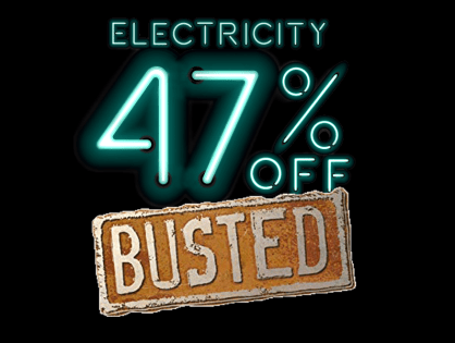 Who has the biggest electricity discount - and why it doesn't matter