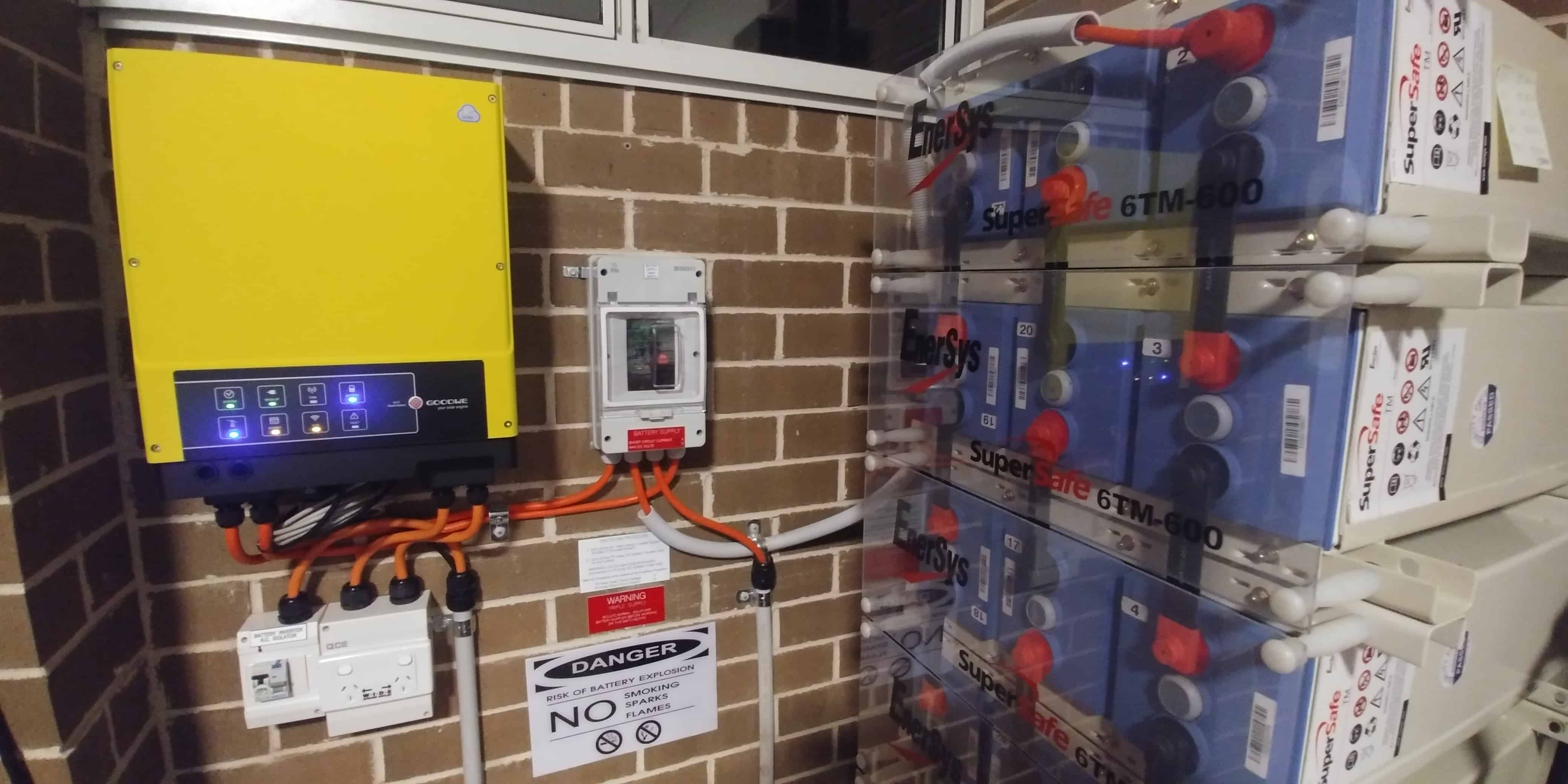 Goodwe Enersys Home Storage
