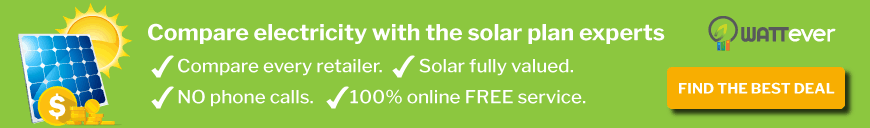 Compare electricity with the solar plan experts: WATTever