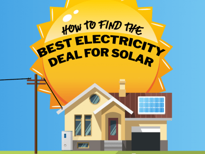 How to find the best electricity deal for solar