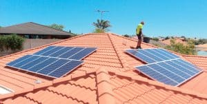 Two million solar roof top systems in Australia