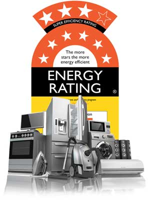 energy ratings stars identify efficient appliance