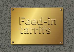 Premium feed in tariffs