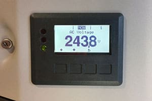 solar inverter check output